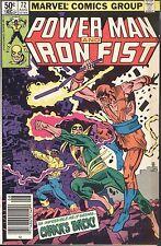 Marvel Power Man and Iron Fist #72 August 1981 Chaka Duffy Gammill Villamonte
