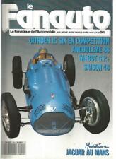 FANA DE L'AUTOMOBILE N°241 TALBOT EN 1948 / CITROEN 15 SIX / COTAL SURMULTIPLIEE