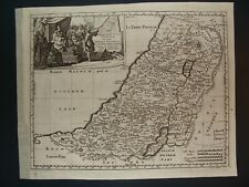 ISRAEL PALESTINE HOLY LAND MAP by SANSON 1665