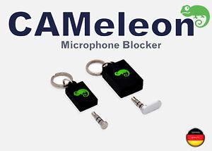 Deutschlands Nr. 1 Mikrofon Blocker I  Mic Blocker I Schutz vor Audiohacking