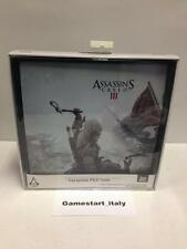 ASSASSIN' S CREED III 3 FACEPLATE - FOR SONY PS3 SLIM - NEW - VERY RARE - HORI