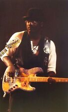 Tommy Simms clipping 1992 color photo White Heart bassist Los Angeles live Boss