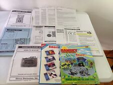 RAMSEY,ELENCO,VELLEMAN  LOT OF MANUALS,DIAGRAMS,1 MAGAZINE ETC ALL MINT