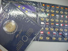 LEUCHTTURM ALBUM PRESSO PER 2 EURO BANDIERA EUROPEA