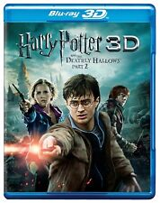 NEW Harry Potter and the Deathly Hallows 2 Part II  3D + Blu-ray Box Set  MOVIE