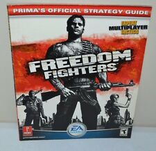 USED Freedom Fighters Official Strategy Guide (Prima Games) PC PS2 Gamecube XBOX