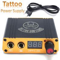 18V/1.5A Tatuaje Fuente De Alimentación Máquina Tatuar Tattoo Poder Supply Kit