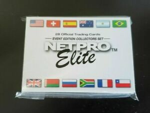 🔥 2003 Netpro Elite Event Edition Set Federer Nadal Serena RC  - Sealed! 🔥