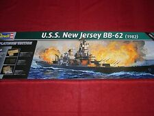 REVELL® 05129 1:350 U.S.S. NEW JERSEY BB-62 (1982) NEU OVP