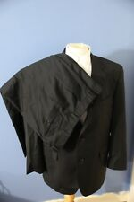 JOS A BANK SIGNATURE GOLD Suit 44R Black 100% Wool