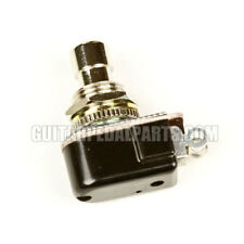 SPST Short Momentary Foot Switch, Normally Open, for Guitar Pedals