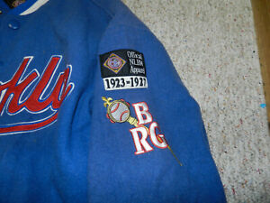 NLBM Negro League Baseball Jersey Brooklyn Royal Giants Museum 4XL Headgear