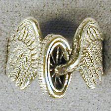 1 DELUXE BIKE TIRE WHEEL HEAD  SILVER BIKER RING BR 96 mens NEW jewelry RINGS