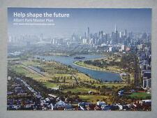 Albert Park Master Plan Parks Victoria Ephemera Postcard