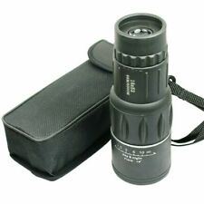 16X52 Monocular Zoom Dual Focus Rubber Armored Telescope for Hunting / Camping