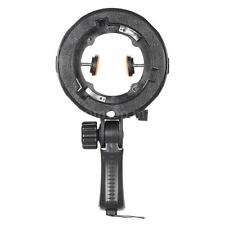 Photo Studio Umbrella Reflector Bowens Mount Speedlite Hot Shoe Adapter Bracket