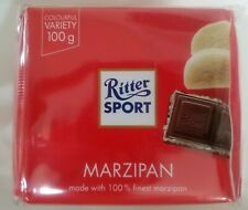 RITTER SPORT MARZIPAN. PACK OF 5. 5x100g. BEST BEFORE DATE 15/11/2019.