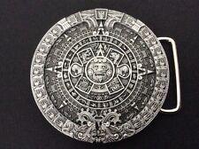 New Aztec Calender Belt Buckle