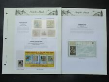 ESTATE: Norfolk Island Collection on Pages, Great Item! (p3540)