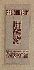 MINT Vintage Printed Art Nouveau Brochure Vienna Secession Ernst Puchinger