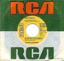 JOHN DENVER - CHRISTMAS FOR COWBOYS - RCA - PROMO 45