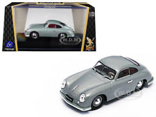 1951 PORSCHE 356 COUPE SILVER 1/43 DIECAST MODEL CAR BY ROAD SIGNATURE 43217