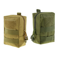 2pcs Lightweight Small Molle EMT Pouch Tactical Bags Utility Gadget Gear