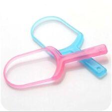 Plastic Tongue Scraper Cleaner Oral Dental Hygiene Tool