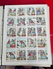 Image d'Epinal Pellerin  n°1102 Histoire de la Barbe Bleue vintage 1900