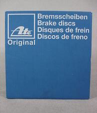 2 Stück ATE Bremsscheibe Citr., Peug. ua. Bj.99-     24.0109-0137.1    NEU OVP
