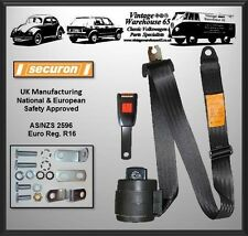 Triumph Gt6 Mk1 Mk2 Sports Front Automatic 3 Point Seat Belt Kit
