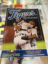 2011 Detroit Tigers ALDS Magazine 2011 AL Central Champions Verlander Valverde !
