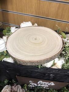 Wooden Logs Centre Pieces