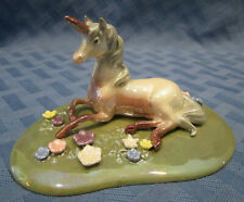 Hagen-Renaker Specialty Unicorn on Base, #03040, Made in USA