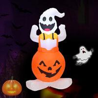 Halloween Pumpkin Ghost Ghost Airblown Inflatable Yard Outdoor Creepy Horror