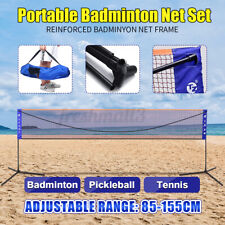 20FT Beach Volleyball Badminton Tennis Net Stand Training Outdoor  Home Backyard