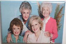 "Golden Girls Vintage Photo 2"" x 3"" Refrigerator Locker MAGNET Version 3"