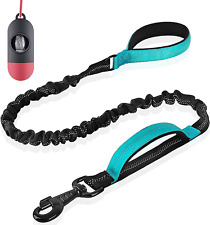 New listing Bungee Dog Leash Shock Absorbing Nylon Reflective Pet For Training Walking