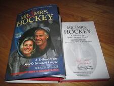 """GORDIE & COLEEN HOWE signed """"Mr & Mrs HOCKEY"""" 2004 1st Ed Book DETROIT RED WINGS"""