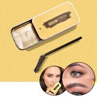 3D Feathery Brows Makeup Gel Waterproof Soap Brows w/ Brush Long Lasting Eyebrow