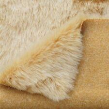 Edelpelz Fellimitat SILBER-FUCHS | 25mm Flor | Mode Mantel Kragen Stoff Tierfell