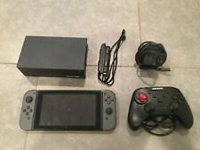 Nintendo Switch 32GB Console with Grey Joycons (Unpatched, Hackable)