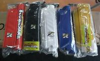 Old School BMX Kuwahara Pad set Black blue red yellow white 3 piece fits laserli