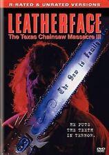 Leatherface The Texas Chainsaw Massacre 3 Region 1 DVD