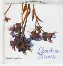 (FJ918) Literature Thieves, King of Cups / Rain - DJ CD