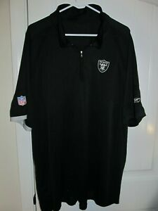 Oakland Raiders polo shirt - Reebok Adult 2XL
