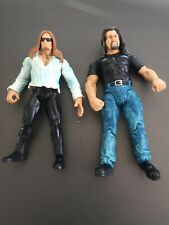 Set Of 2 WWF Titan Tron Live Figures Gangrel Big Show Free Shipping