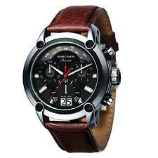 ROMANSON PREMIER Men's PL1219HM2DB32W Art Rocks Brown Watch