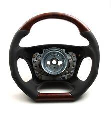 DTM Style airbag volante airbag volante raíz madera cuero mercedes r129 SL