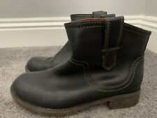 Clarks Boots Size 5 38 Plus Line With Scottish Tartan Lovely Style